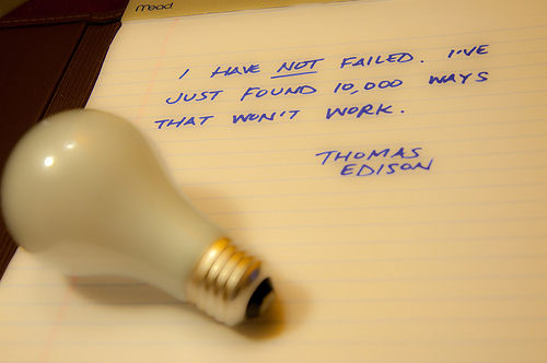 Inspirational Good Morning Messages Quotes Thomas Edison