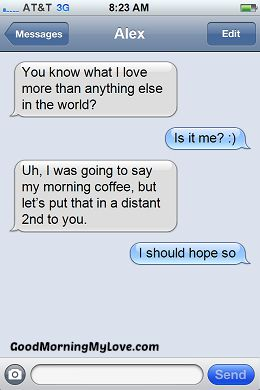 Funny Good Morning Messages_FunnyText Messages 11