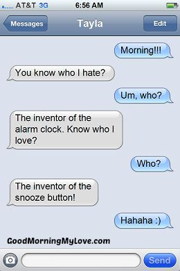 Funny Good Morning Messages_FunnyText Messages 7