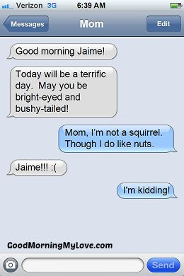 Funny Good Morning sms Messages_FunnyText Messages 8