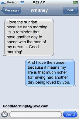 Good Morning Love Messages_Good Morning sms text message 8