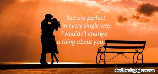 Cute Romantic Good Morning Quotes For Him