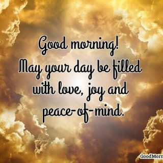 Good morning blessings