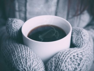 Good Morning Love Wallpaper_Cup of Hot Coffee