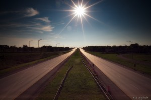 Good Morning Wallpaper_Sunny Road